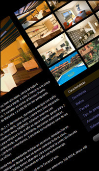 Web design, development and marketing example made for a company in Malaga, Andalucia